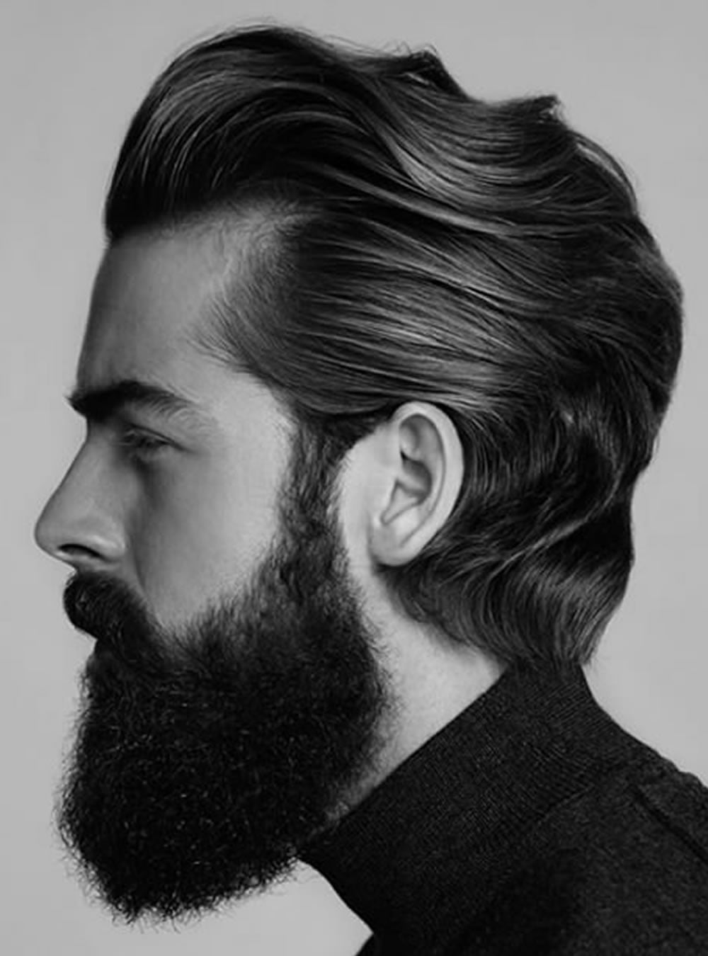 Pompadour Hairstyles for Men 2018 - Modern, Fade, Big Volume, Side Part Etc