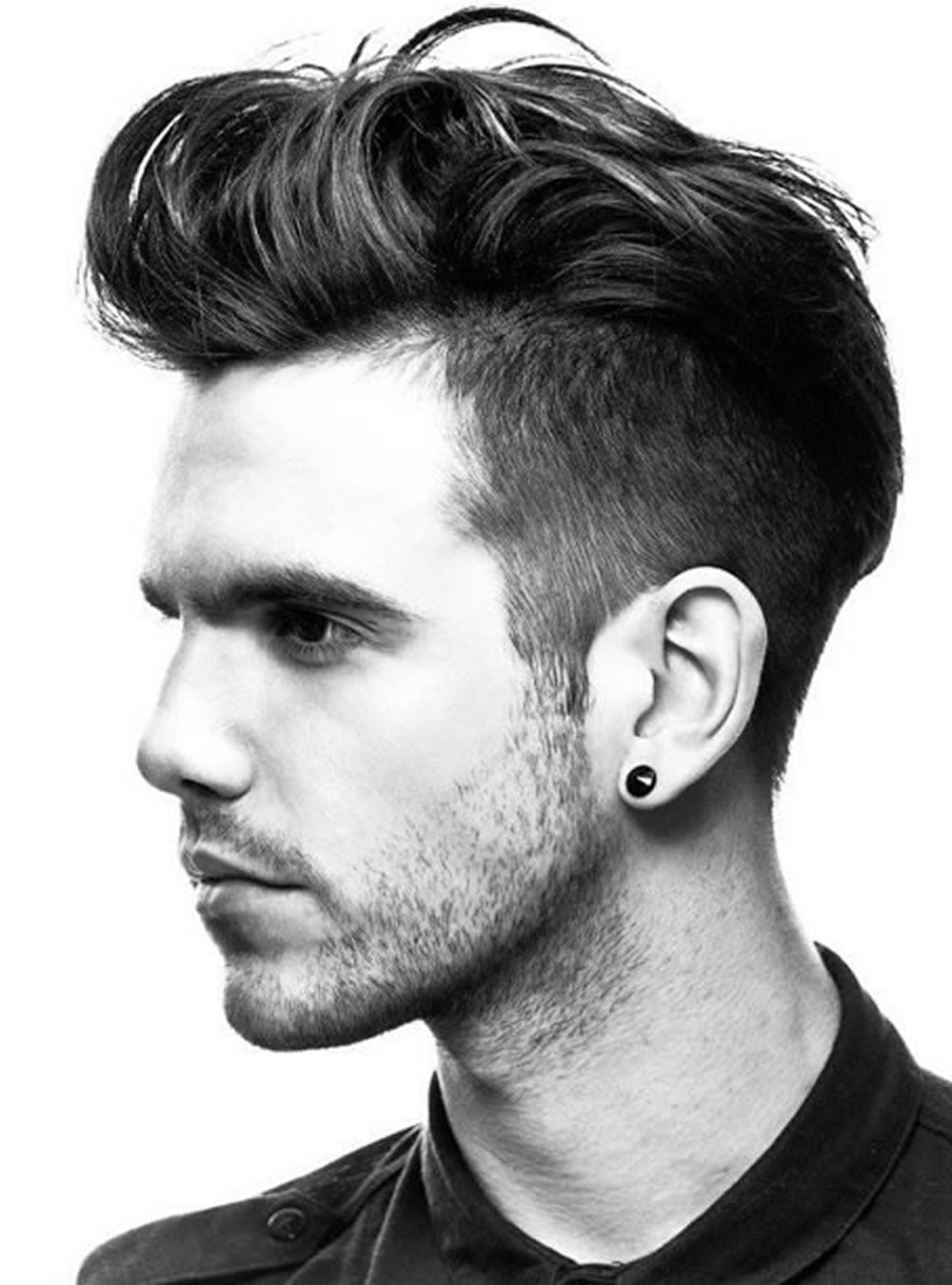 Pompadour Hairstyles for Men 2018 - Modern, Fade, Big Volume, Side ...