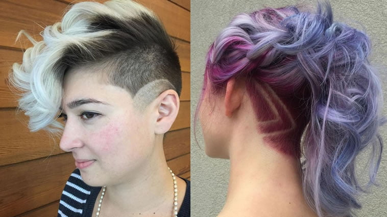 Undercut Hairstyles For Women - Long,Medium or Short Hair