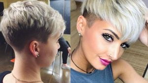 Short Edgy Pixie Haircuts