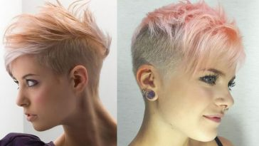 Undercut pixie Hairstyles to Reflect Your Character