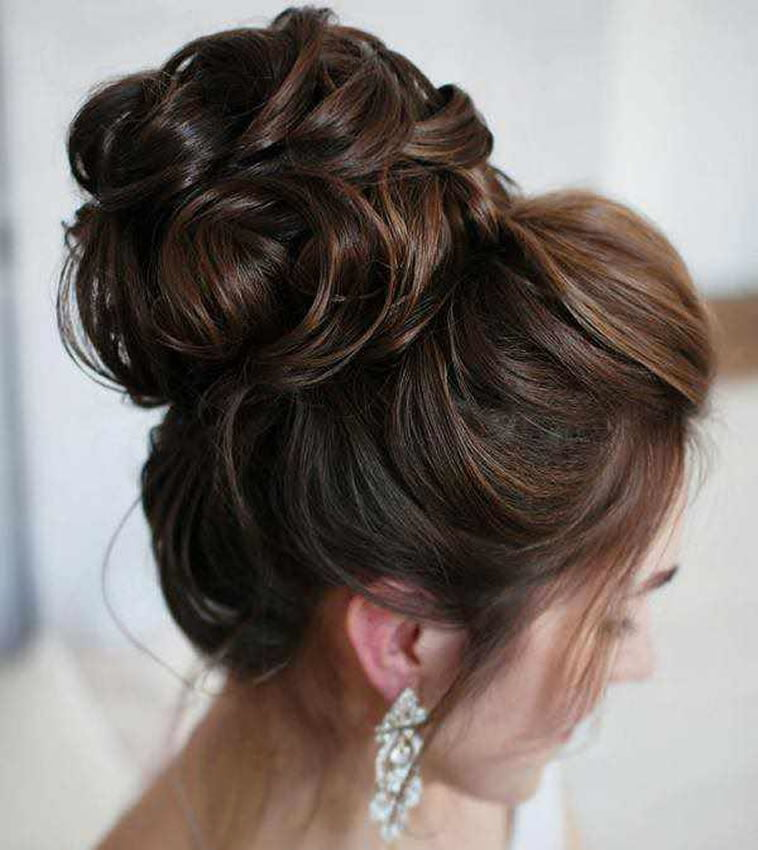 2018 wedding updo hairstyles for brides hair colors for