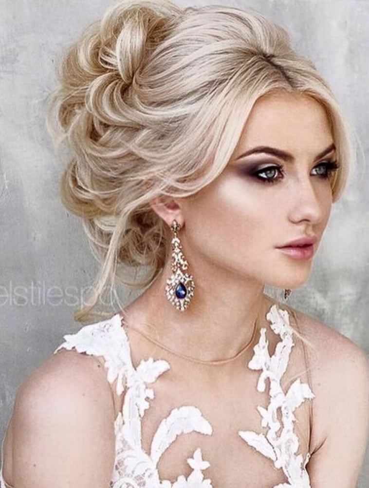 2018 Wedding Updo Hairstyles for Brides | Hair Colors for Long Hair ...
