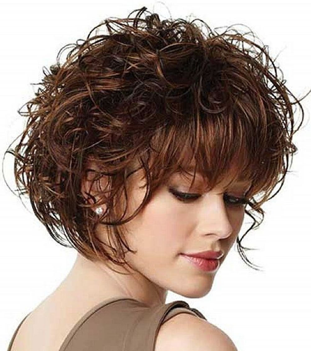 30 Trendy Curly Bob Haircuts and Hair Colors for Women | Page 6 of 9