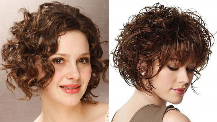 Bob Style Haircuts For Curly Hair: Curly Hairstyles And Haircuts Ideas For 2018