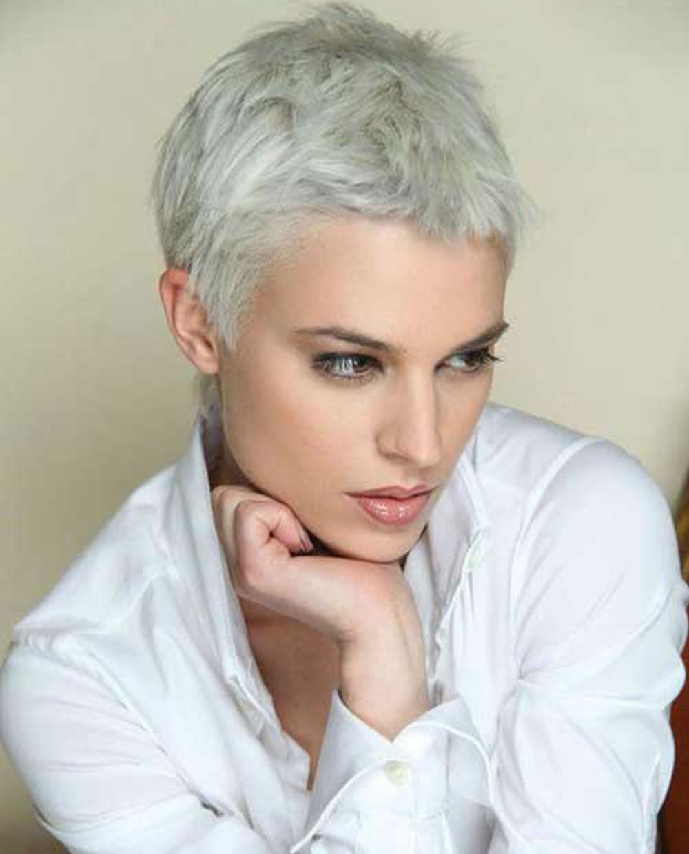 Pixie Cut Grey Hair Hair Color Ideas And Styles For 2018