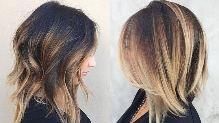 Hair Styles With Long Layers: 25 Layered Long Bob Hairstyles And Lob Haircuts 2018