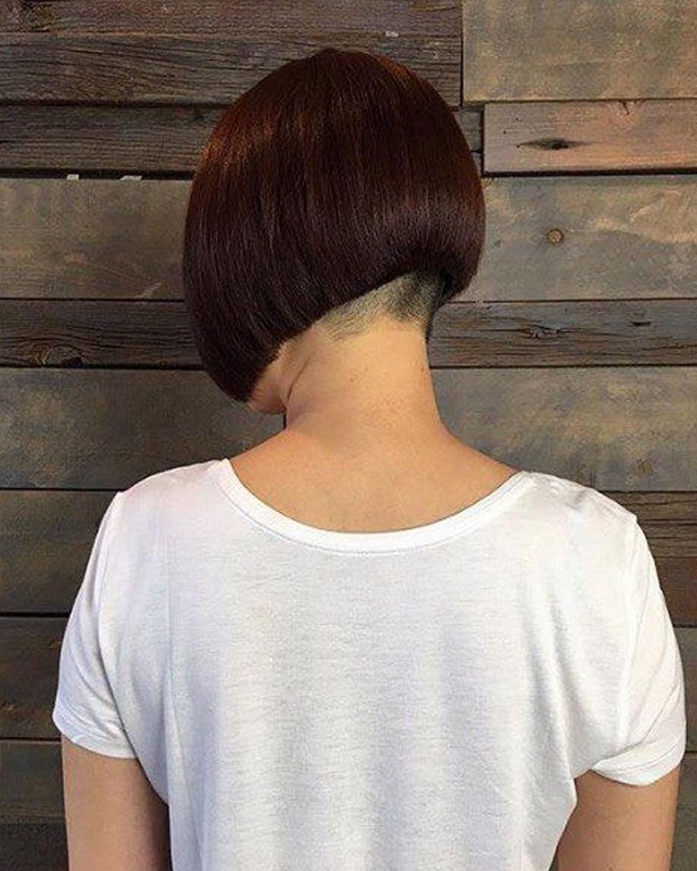 bob haircut nape - Haircuts Models Ideas