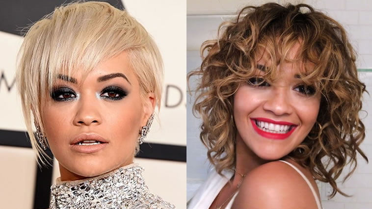 Rita Ora\'s Short Hairstyles (Pixie + Bob) for 2018 | Celebrity Haircuts
