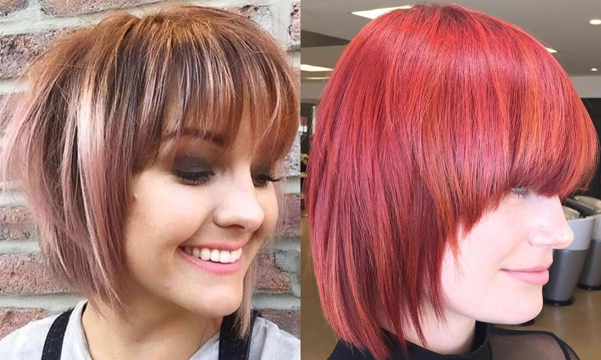 30 Ravishing Short Bob Hair Cuts With Bangs & New Hair Colors ...