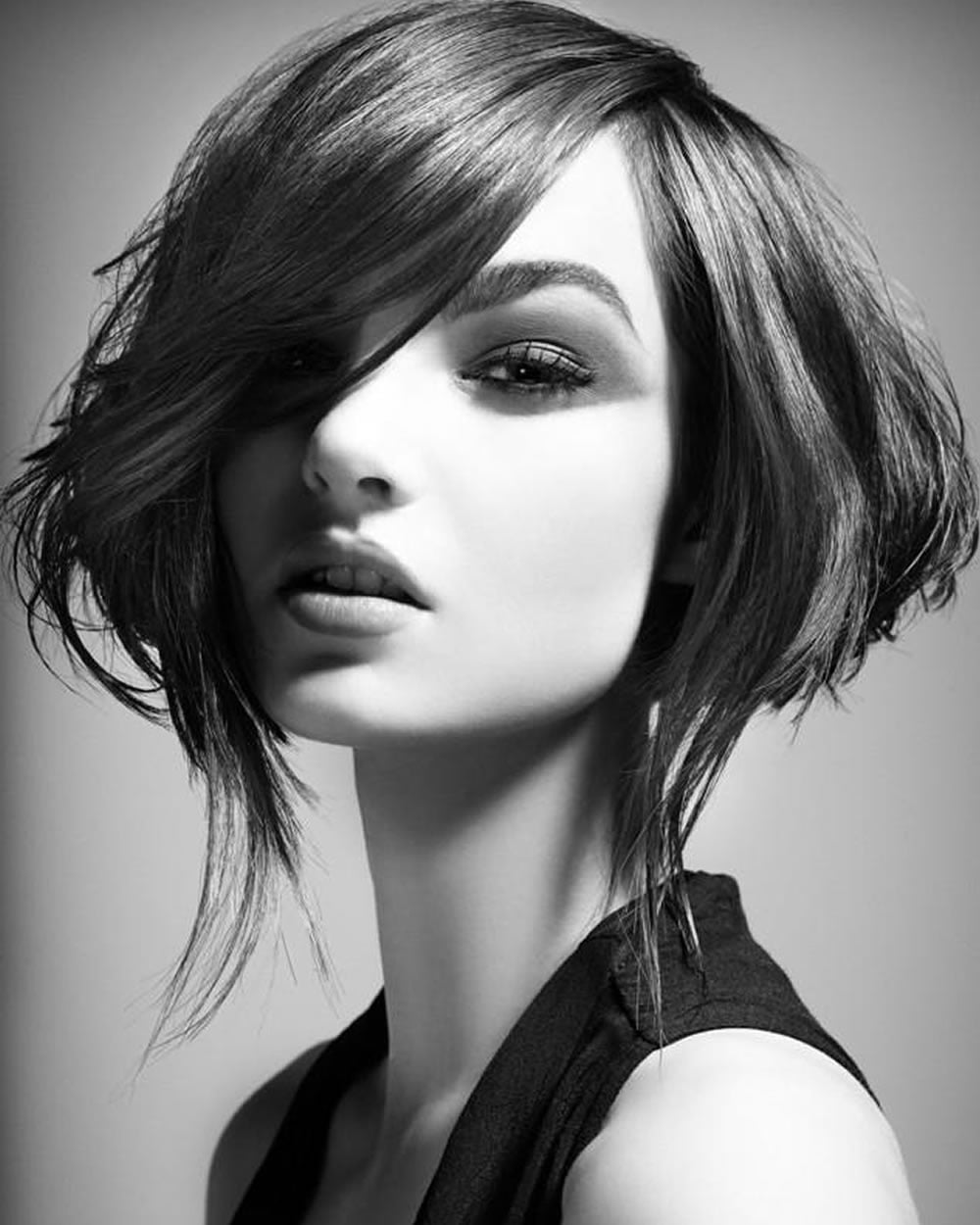Short Bob Haircut Models 2018