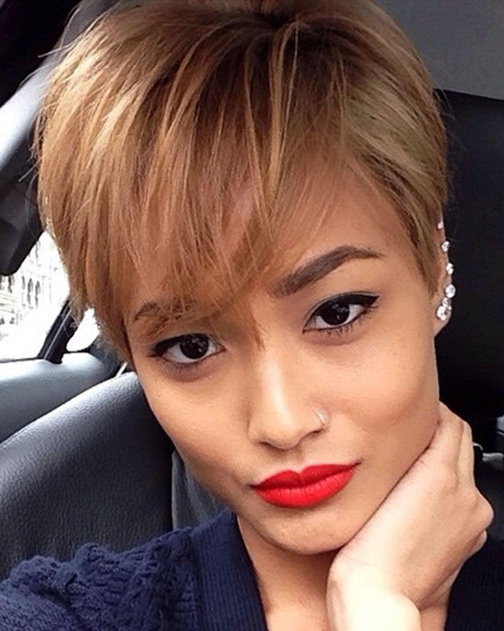 60 Best Short Haircuts Of Famous Women
