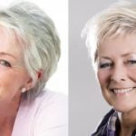 Short Haircuts for Older Women Over 60