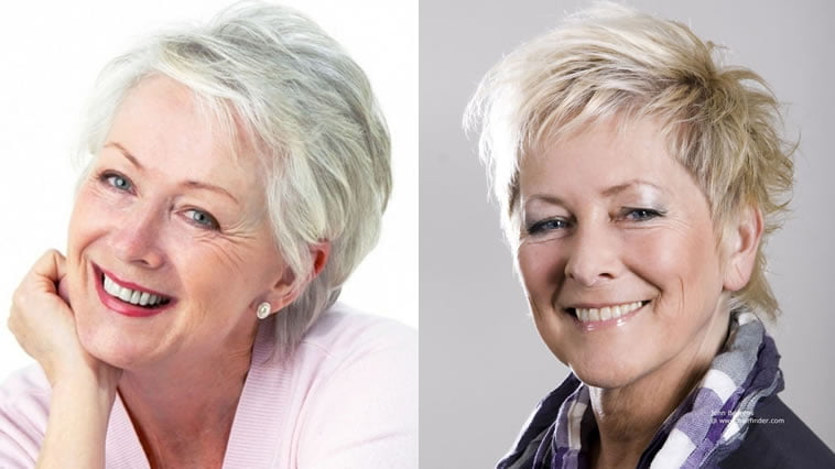 Hair Styles For Short Hair Older Ladies: Short Haircuts For Older Women Over 60