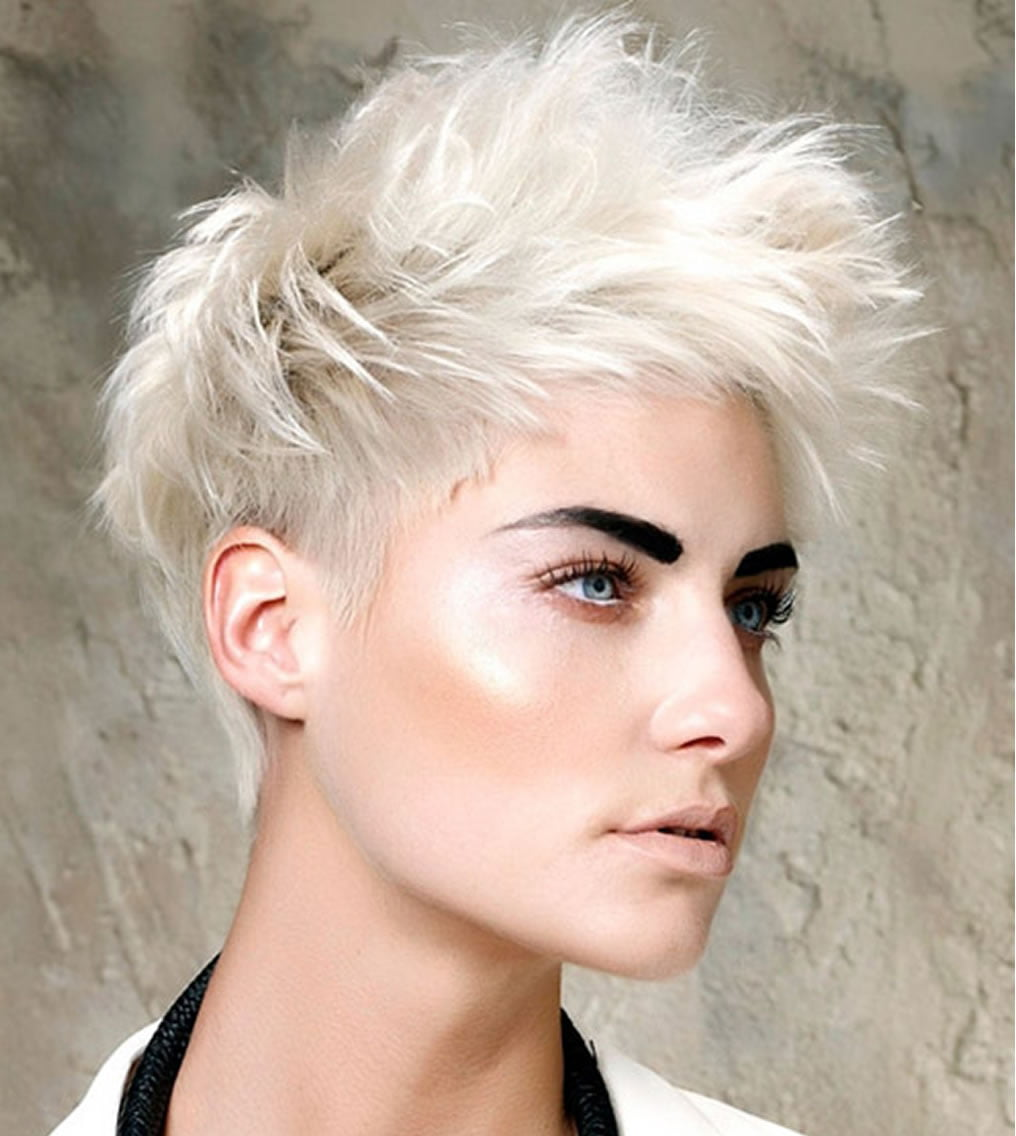 2019 Short Hairstyles Haircuts For Thin Hair Hair Colors Page