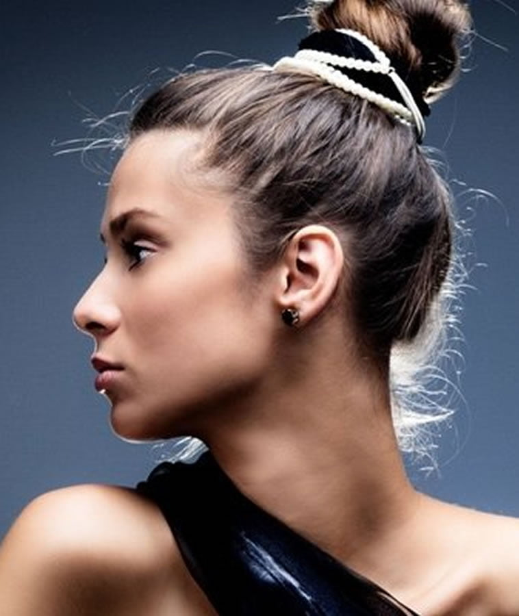 Prom Hair for Long Hairstyles & Bun Hair Color Ideas ...