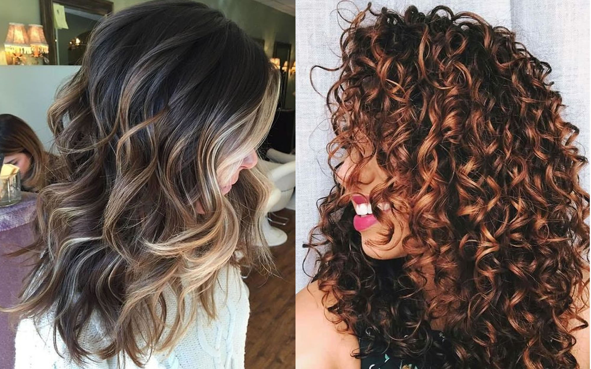 2019 Hairstyles And Colors: Latest Curly & Wavy Haircuts For
