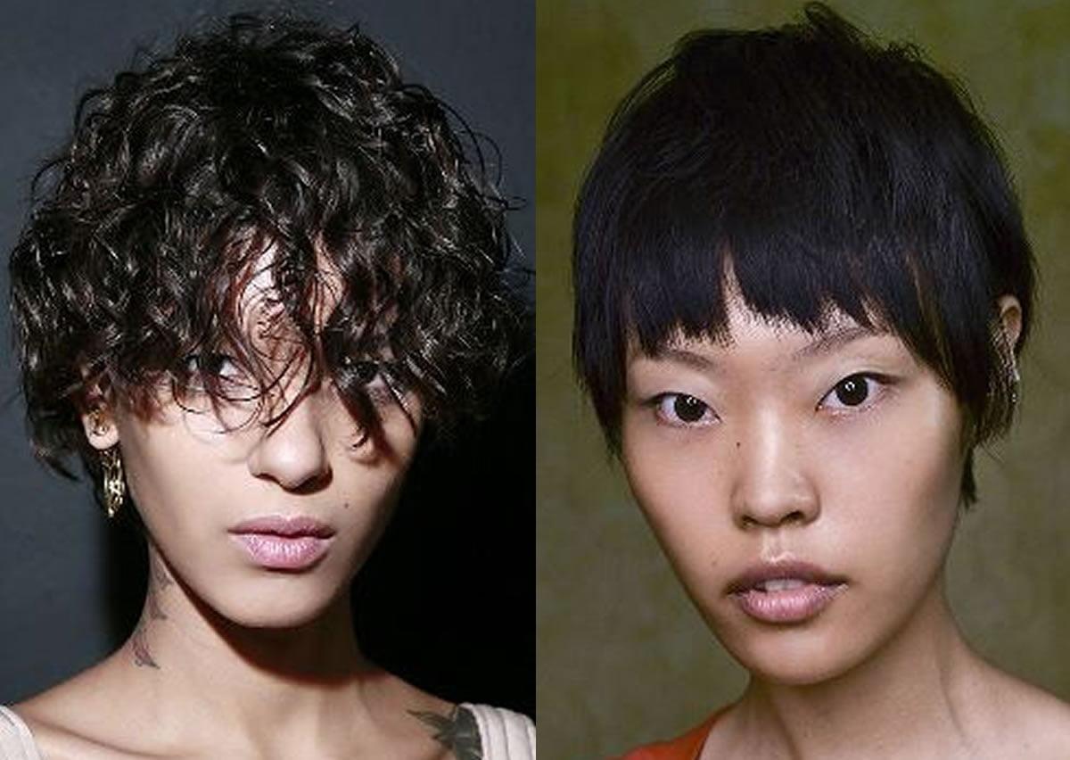 Latest short hair color for women