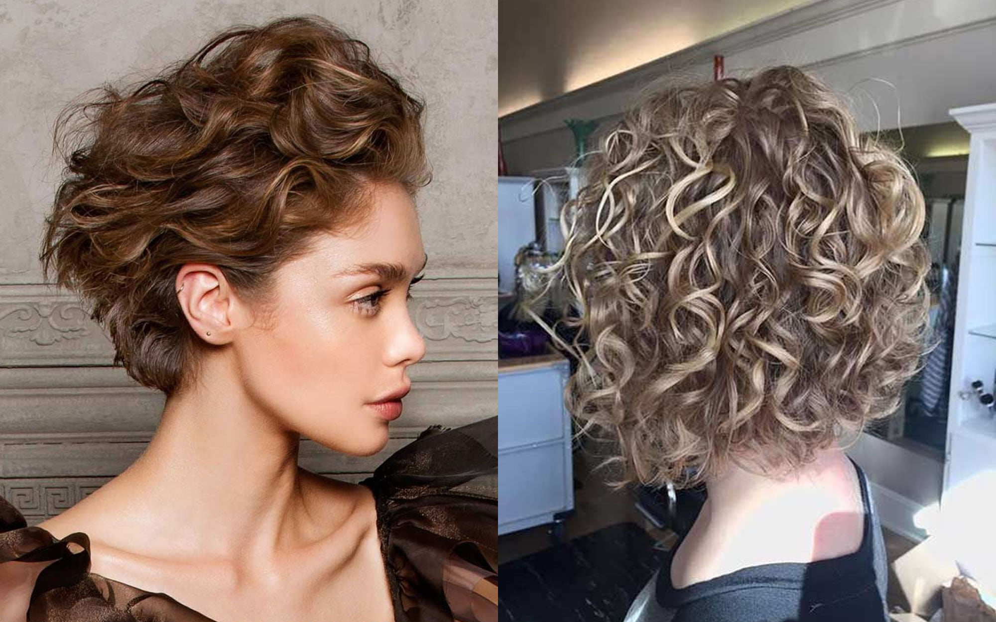 Medium hairstyles 2019 – Latest curly & wavy haircuts for ...