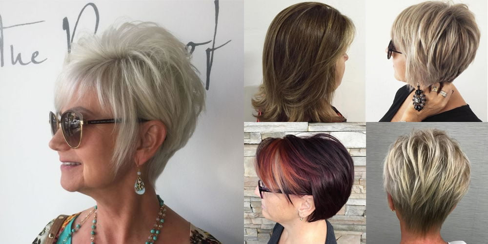 Hair Color Ideas For Short Hair Over 50: 60 Modern Haircuts And Hairstyles For Women Over 50