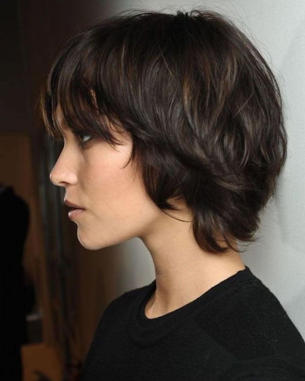 2018 short haircut
