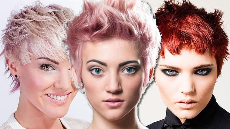 short hair colors for women 2018-2019