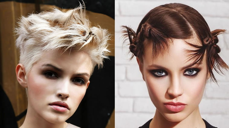 2018 Spring Short Haircut Summer 2019 Pixie Hairstyle For