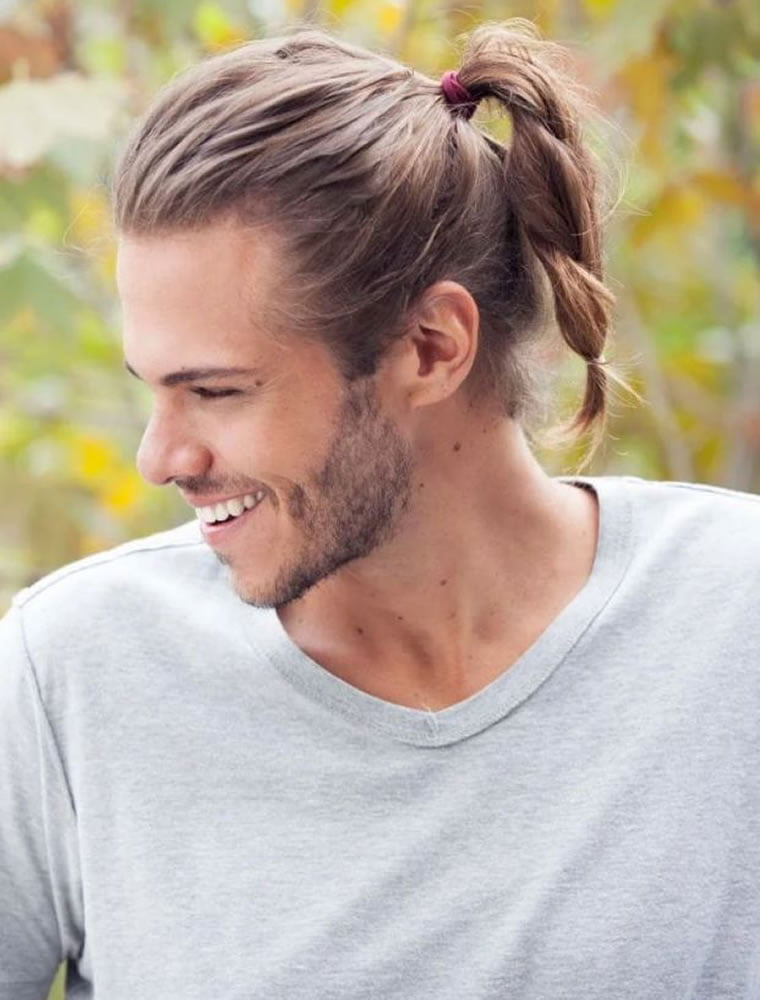 Long Hairstyles for Men 2019 – How to Style Long Hair for Guys ...