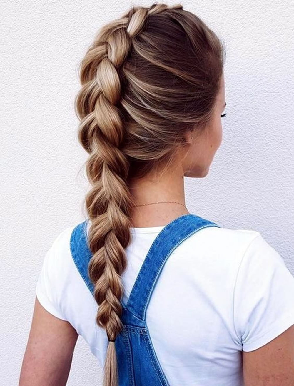 ponytail back to school hairstyles