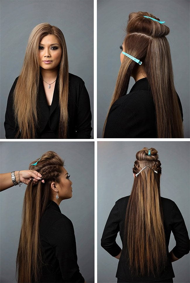 Easy Long Braided Hairstyles
