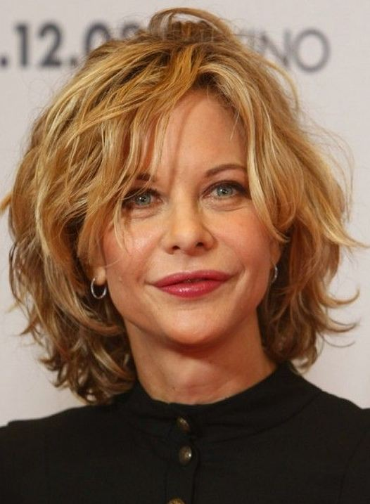Hairstyles for women over 40 short wavy hair 2016-2017