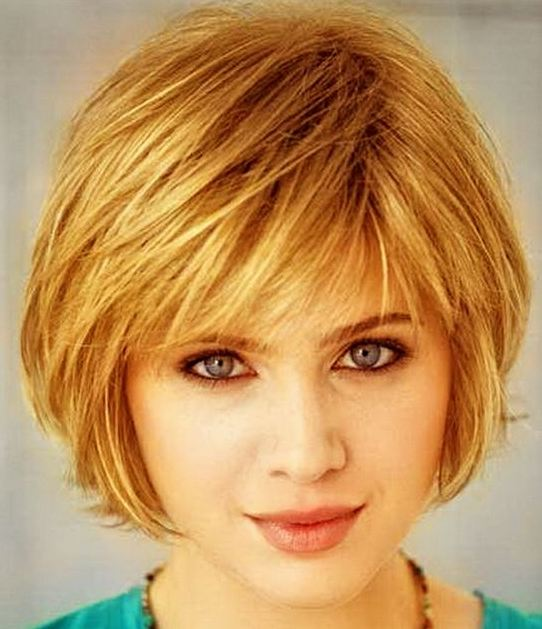 Hairstyles for women over 40 Bobs Blonde Short hair