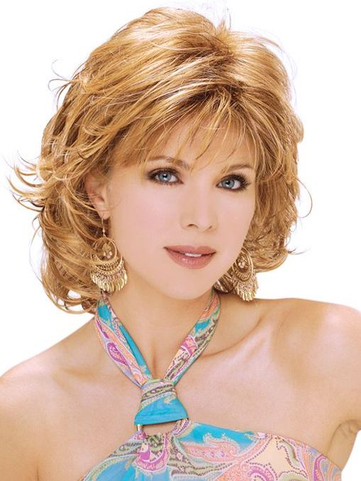 Hairstyles for women over 40 short blonde hair with bangs