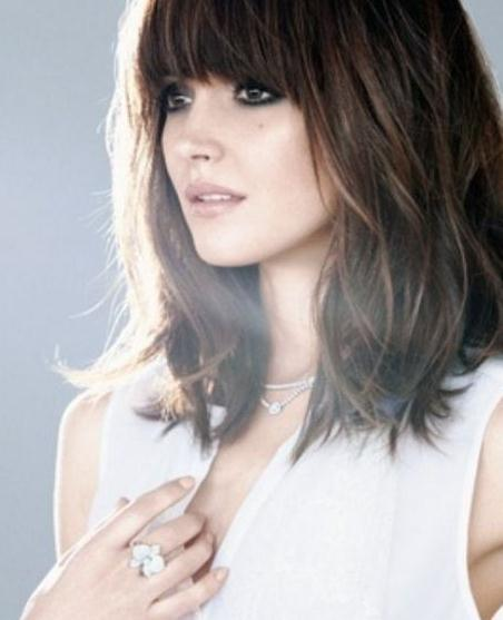 Layered Bangs Hairstyles 2016-2017 for women