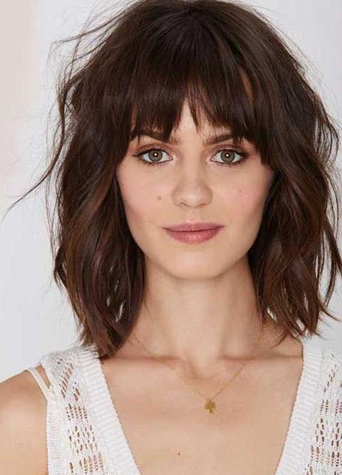 Bangs Hairstyles 2016-2017 - Medium hair