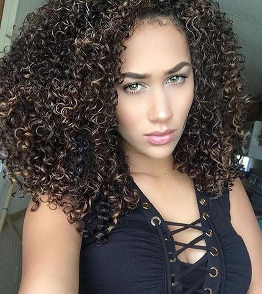 14 Chic Medium and Long Curly Hairstyles 2020 Update