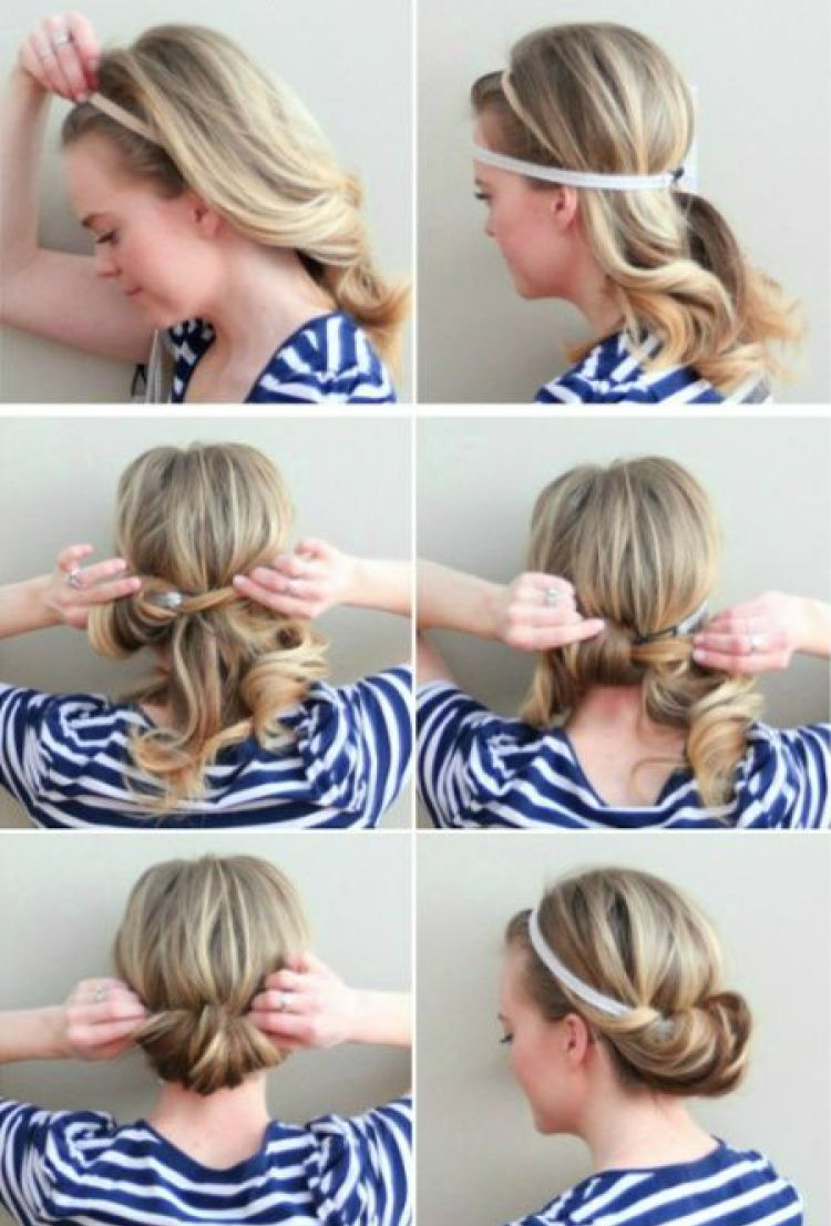 Easy hairstyles for long and medium hair