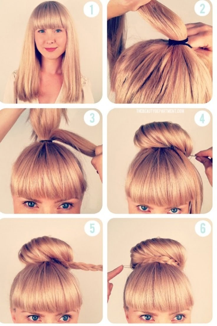 Easy Blonde Hairstyles for long and medium hair