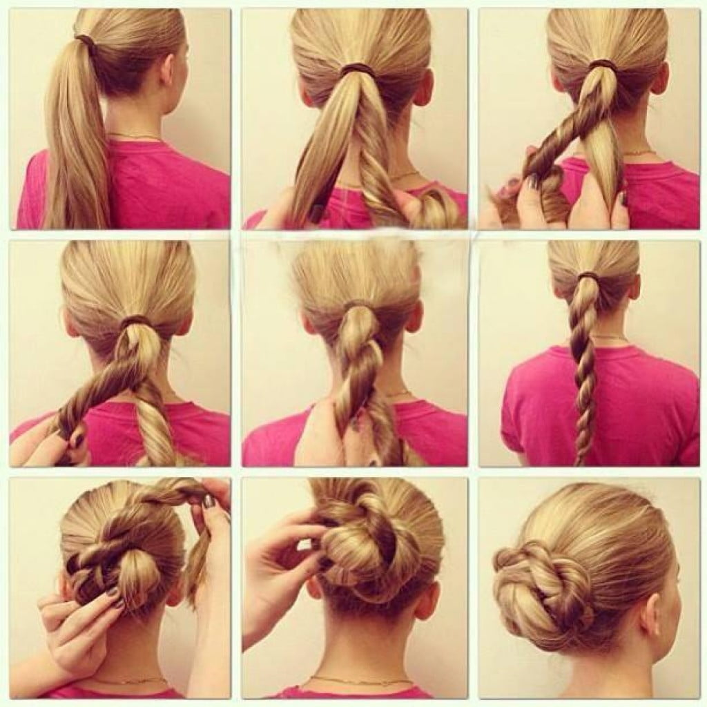 Easy Blonde Hairstyles for long hair