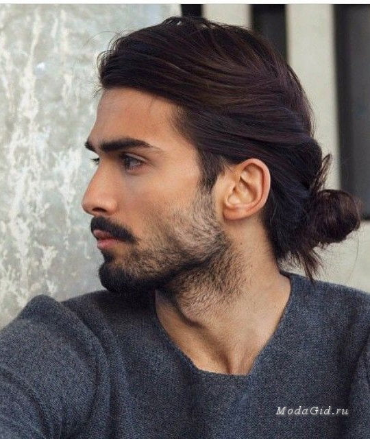 Long Hairstyles for men 2017 with beard