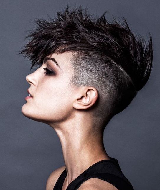 Mohawk hairstyles and haircuts for women