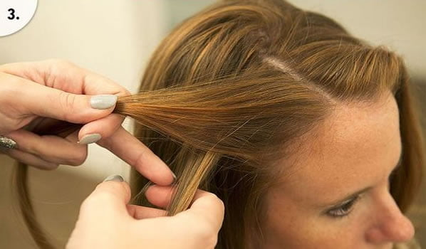Quick hairstyle for school for girls