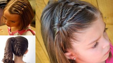 Scool hairstyles for girls