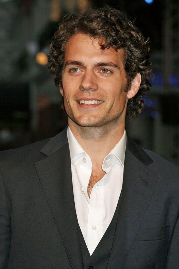 Shaggy curly hairstyles for men