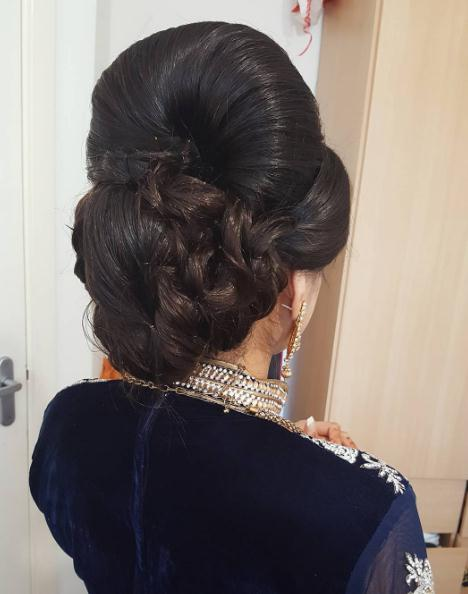 Updo hairstyles and haircuts with bun