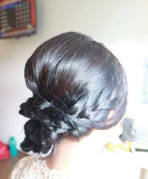 Updo hairstyles and haircuts black color