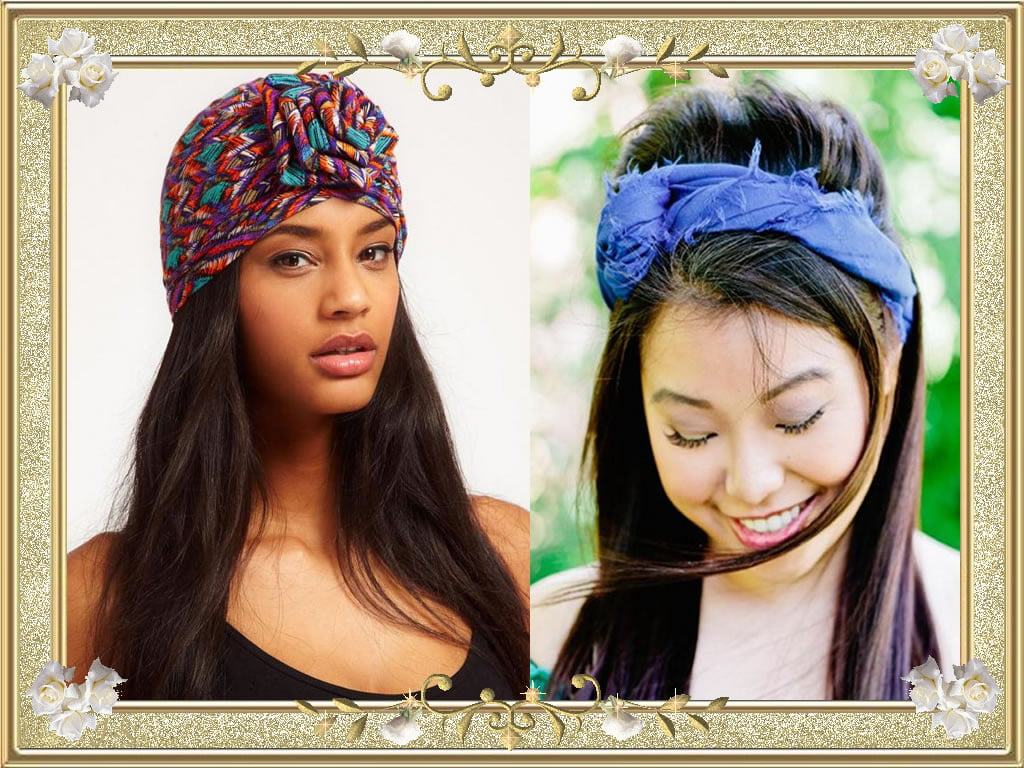 2017 Bandana Hairstyles for Long Hair