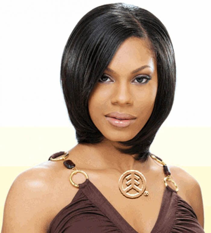 2017 Black Women Short Straight Hairstyles and Haircuts