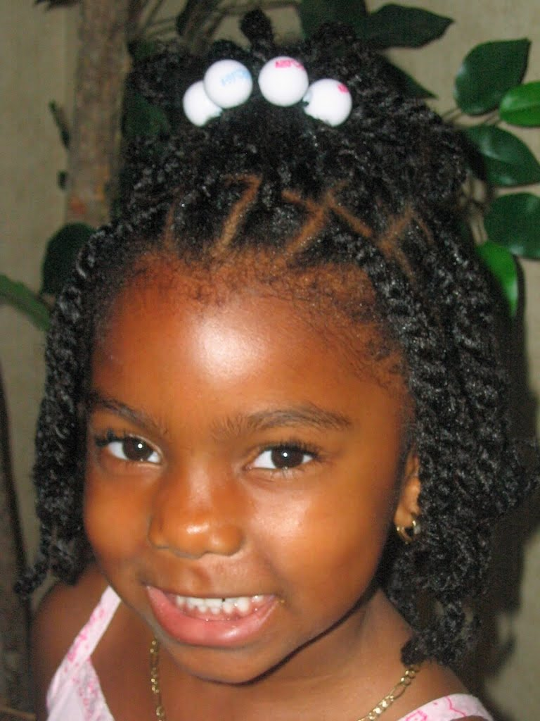 2017 Cute Braided Hairstyles for little black girl
