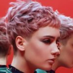 2017 Hair color ideas for very short pink hair